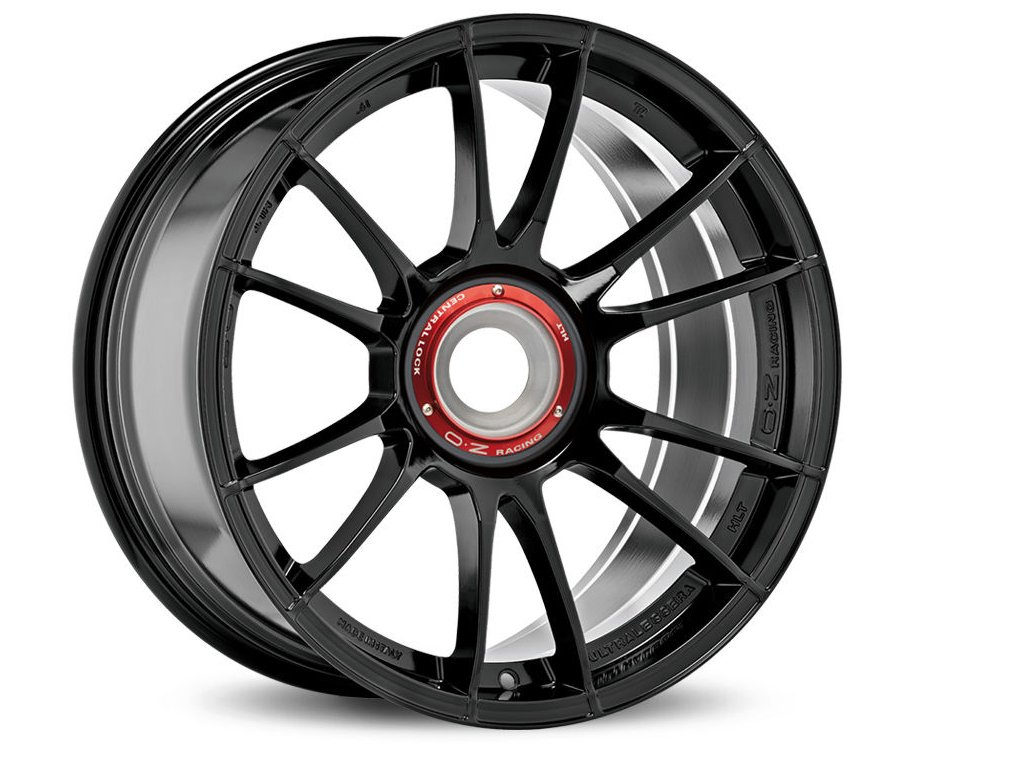OZ ULTRALEGGERA HLT CL 19x12 5x130 ET63 GLOSS BLACK