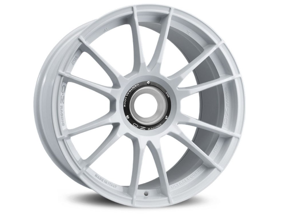 OZ ULTRALEGGERA HLT CL 19x12 5x130 ET63 WHITE