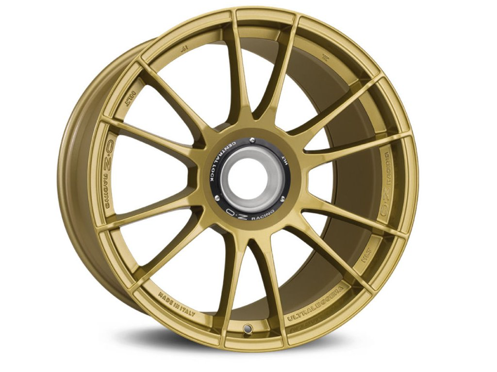 OZ ULTRALEGGERA HLT CL 19x12 5x130 ET63 RACE GOLD