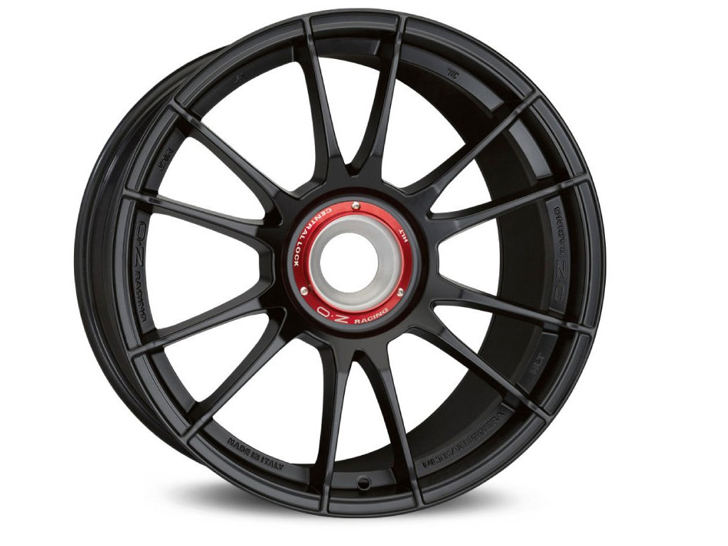 OZ ULTRALEGGERA HLT CL 19x12 5x130 ET63 MATT BLACK