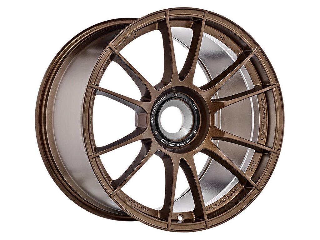 OZ ULTRALEGGERA HLT CL 19x12 5x130 ET48 MATT BRONZE