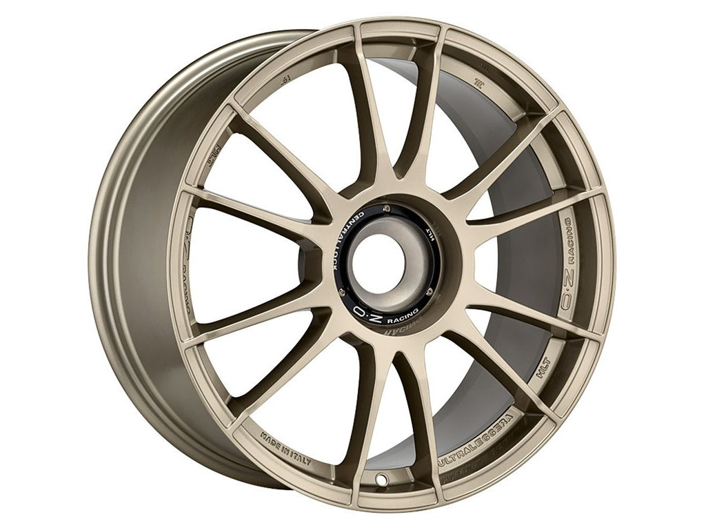 OZ ULTRALEGGERA HLT CL 19x12 5x130 ET48 WHITE GOLD