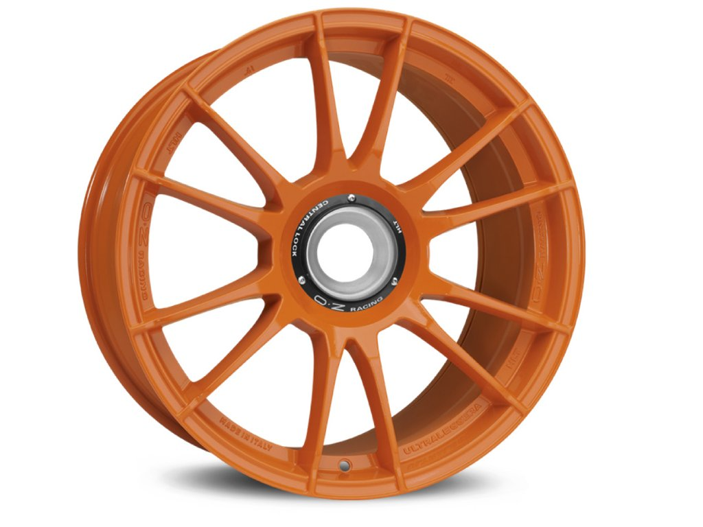 OZ ULTRALEGGERA HLT CL 19x12 5x130 ET48 ORANGE