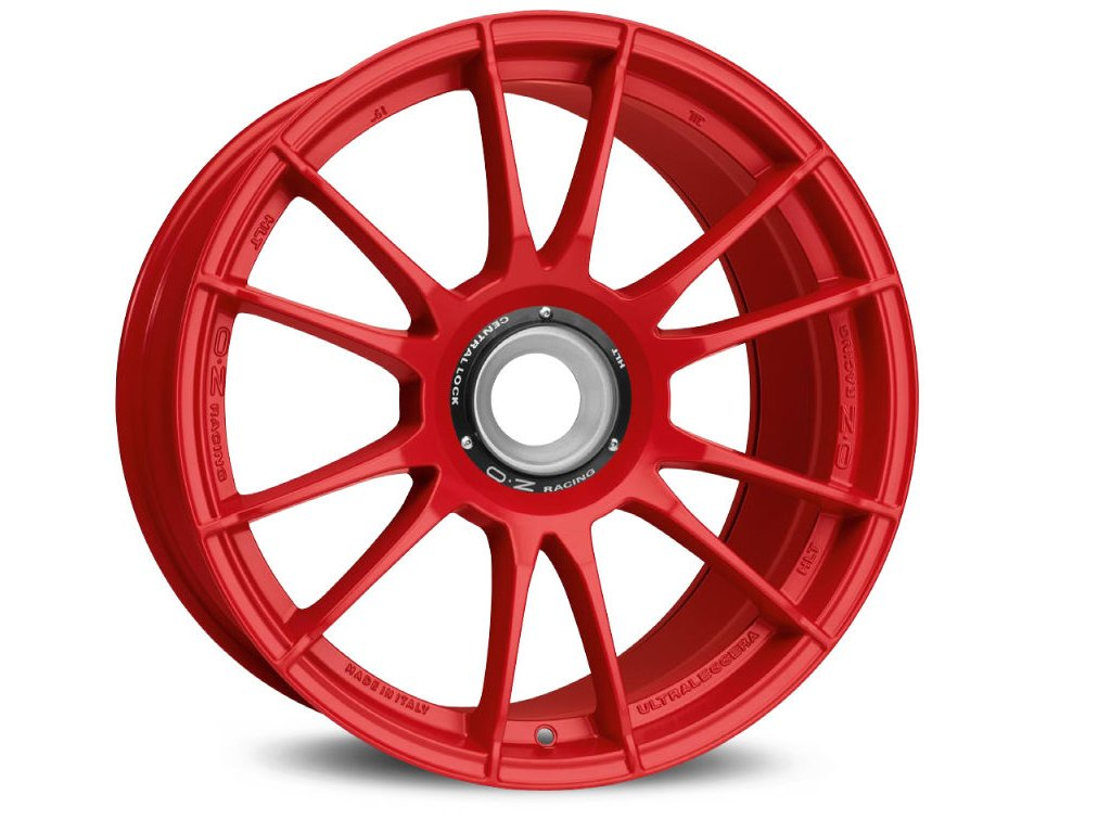 OZ ULTRALEGGERA HLT CL 19x12 5x130 ET48 RED