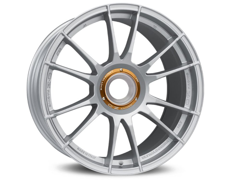 OZ ULTRALEGGERA HLT CL 20x12 5x130 ET47 MATT RACE SILVER