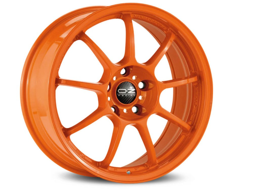 OZ ALLEGGERITA HLT 5F 17x8 5x108 ET55 ORANGE