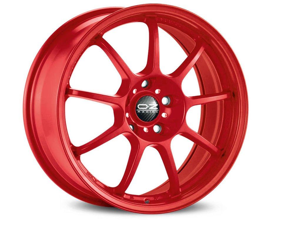 OZ ALLEGGERITA HLT 5F 17x8 5x108 ET55 RED