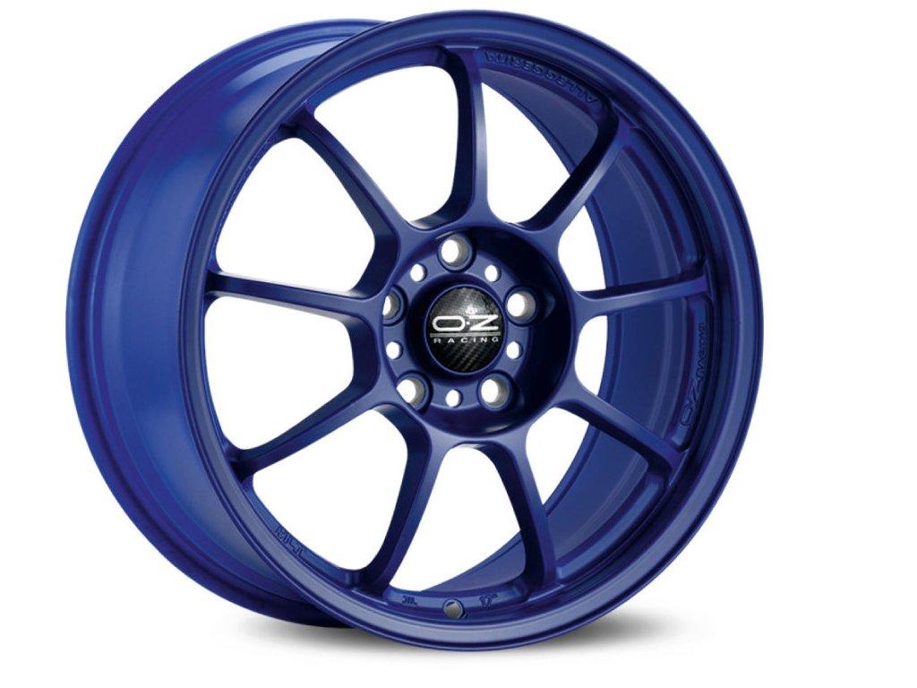 OZ ALLEGGERITA HLT 5F 18x8 5x100 ET35 MATT BLUE