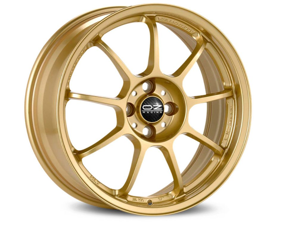 OZ ALLEGGERITA HLT 5F 18x10 5x130 ET65 RACE GOLD