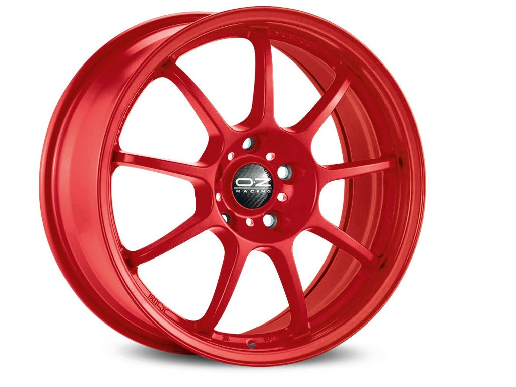 OZ ALLEGGERITA HLT 5F 18x10 5x120,65 ET40 RED