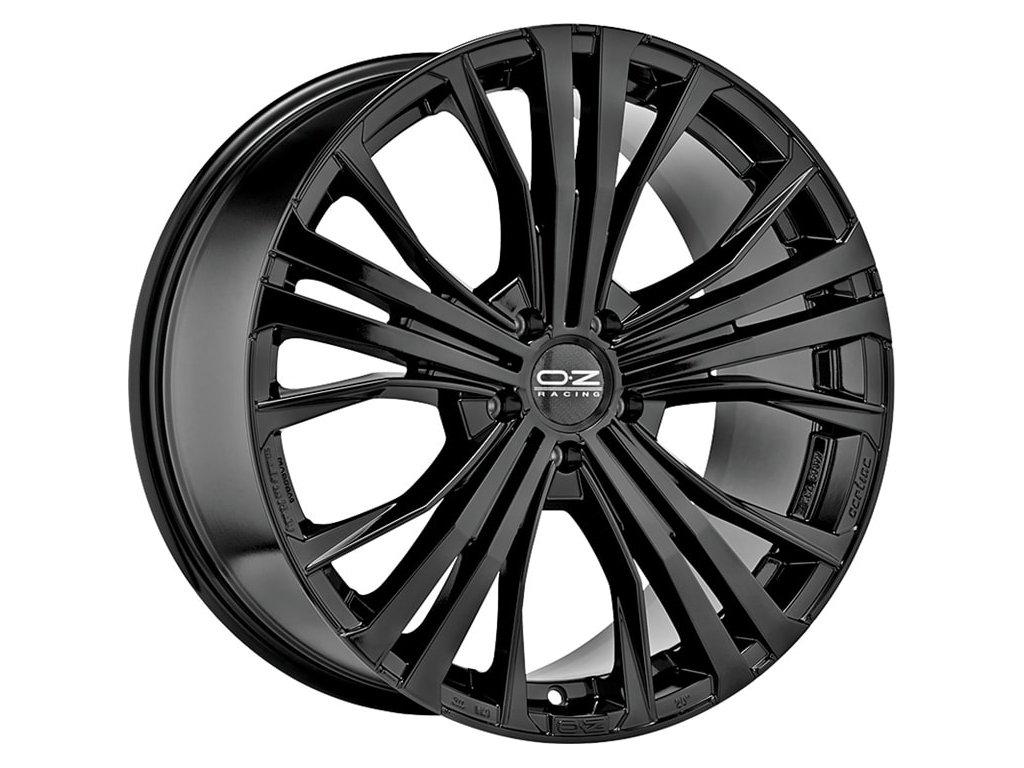 OZ CORTINA 20x9,5 5x120 ET52 GLOSS BLACK