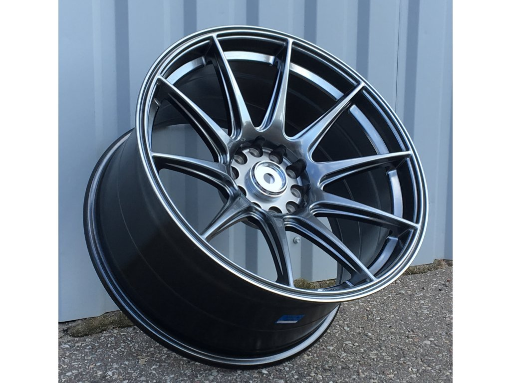 Alu kola replika Japan Racing 19x8.5 5x120 ET30 Dark Shining