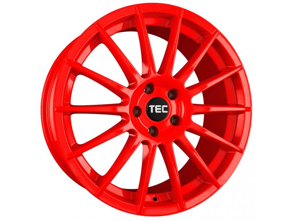 Alu kola TEC Speedwheels AS2 18x8J 5x112 ET35 CB72,5 red