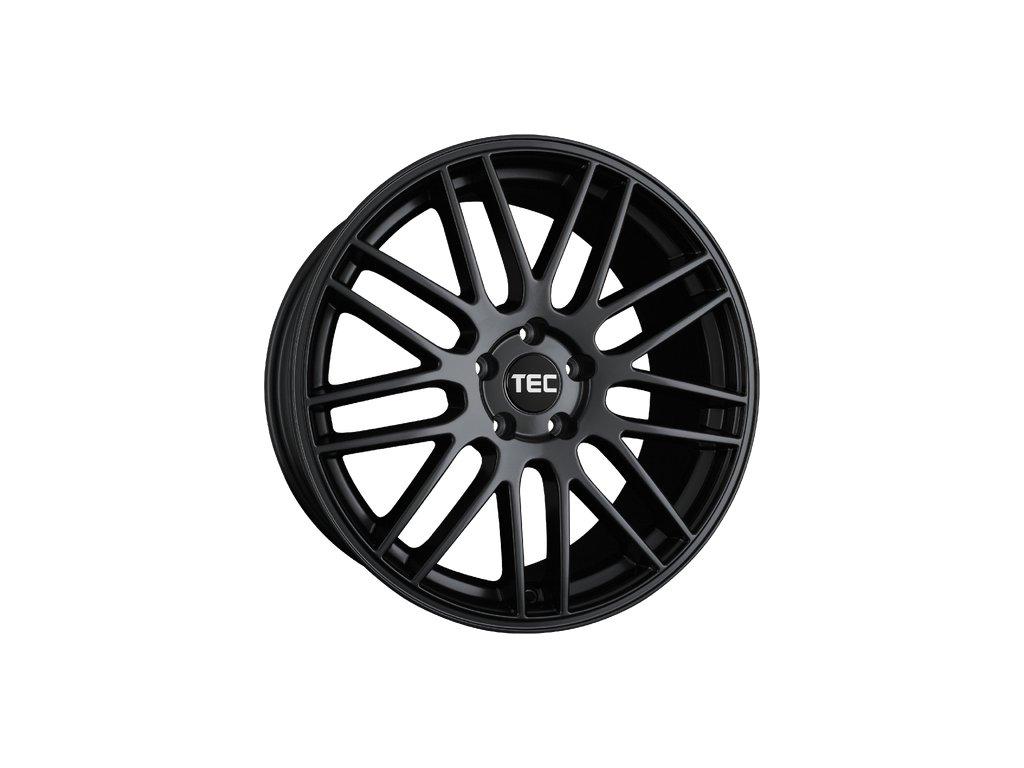 Alu kola TEC Speedwheels GT1 18x8,5J 5x112 ET35 CB72,5 Schwarz-Seidenmatt