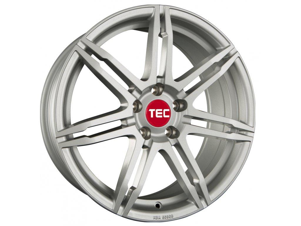 Alu kola TEC Speedwheels GT2 18x8J 5x100 ET38 CB64 sterling-silver