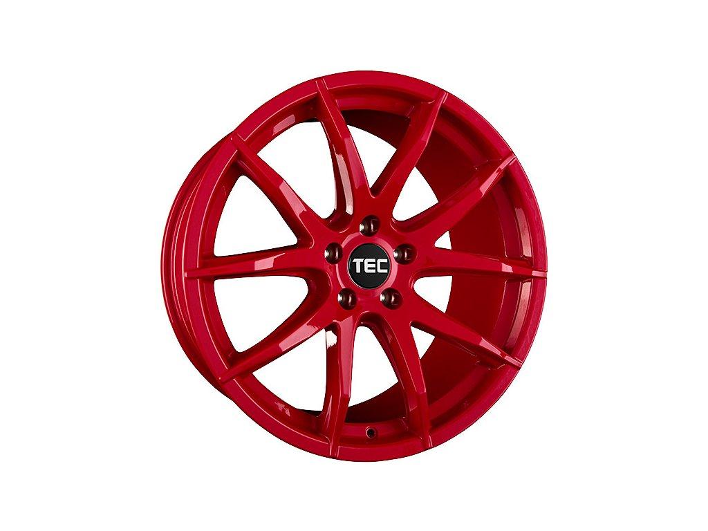 Alu kola TEC Speedwheels GT3 18x8J 5x105 ET30 CB64 tornado-rot