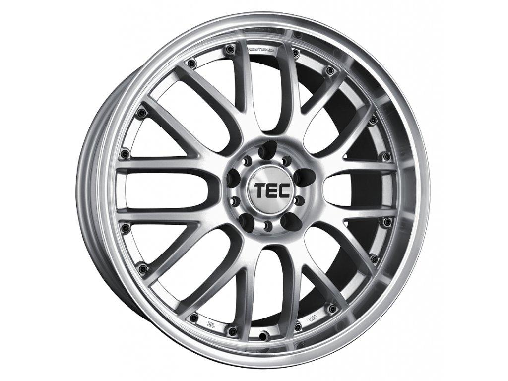 Alu kolaTEC Speedwheels GT-AR1 19x8,5J 5x108 ET45 CB72,5 silver-polished-lip