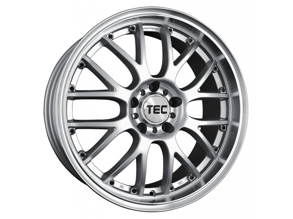Alu kolaTEC Speedwheels GT-AR1 19x8,5J 5x120 ET50 CB65,1 silver-polished-lip