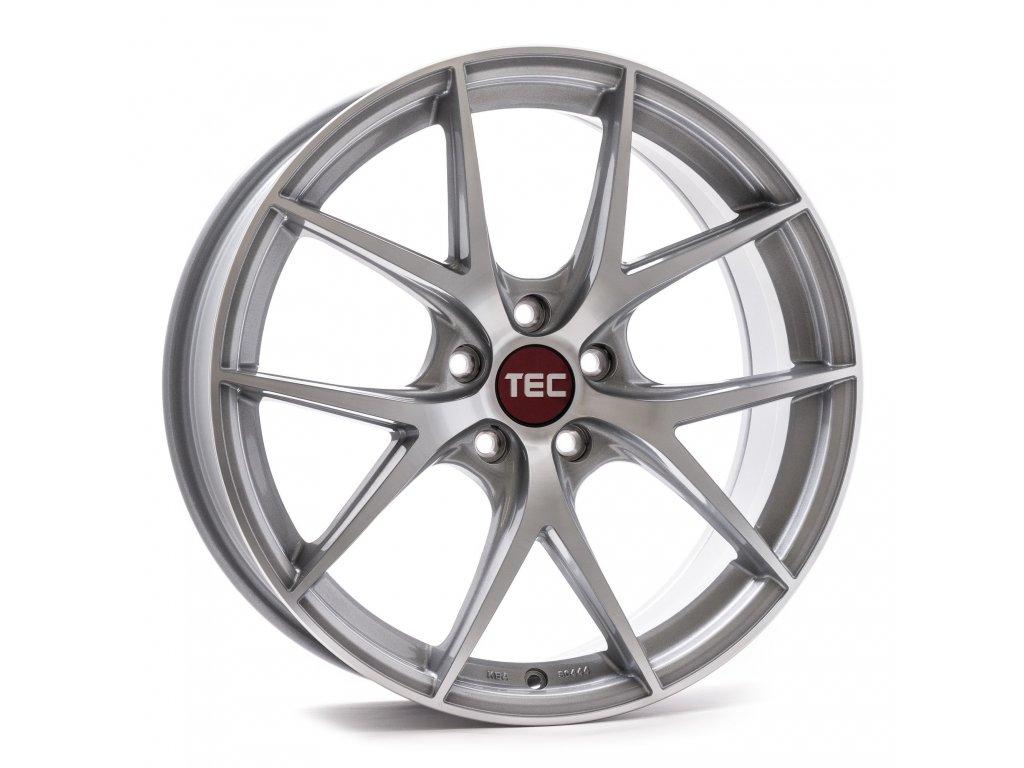 Alu kola TEC Speedwheels GT6 EVO  5x110 ET33 CB65,1 silver-polished