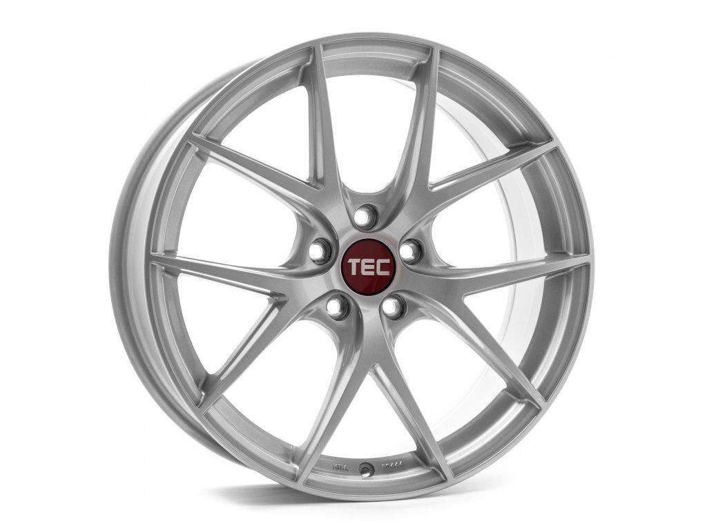 Alu kola TEC Speedwheels GT6 EVO  5x120 ET45 CB72,5 bright-silver