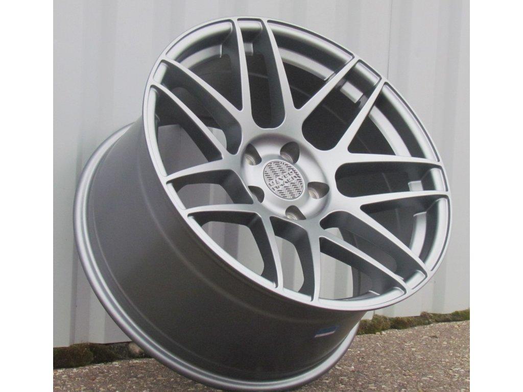 Alu kola Haxer 19x10 5x120 ET30 72,6 šedé