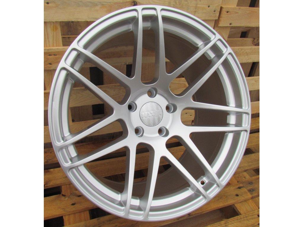 Alu kola Haxer 19x9 5x120 ET20 74,1 stříbrné