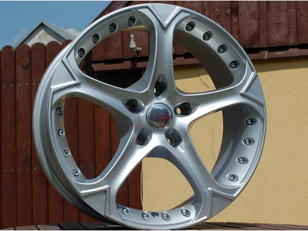 Alu kola Racing wheel 18x8 5x127 ET35 71.6 Silver