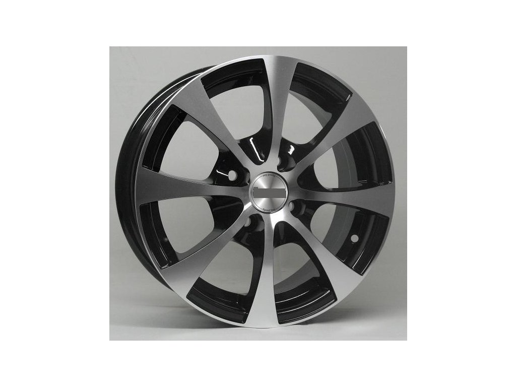 Alu kola design RS Wheels 13x5,5 4x100 72.56 ET35 černé