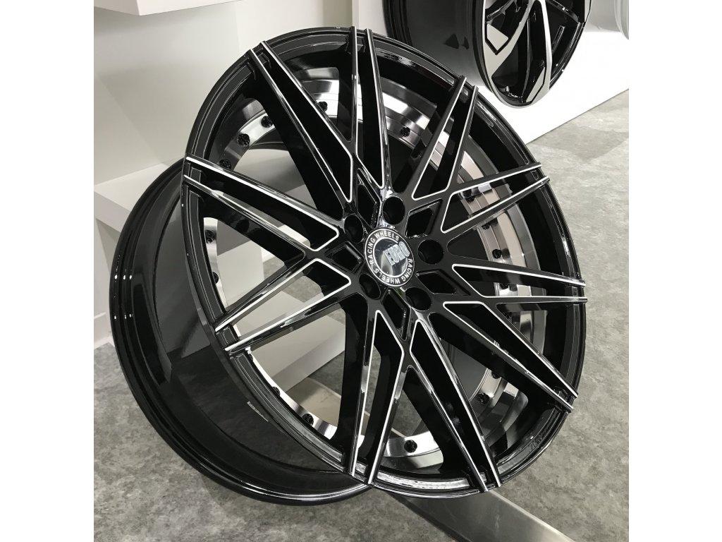 Alu kola EURO Racing wheels 20x10 5x120 ET38 72.56 Black