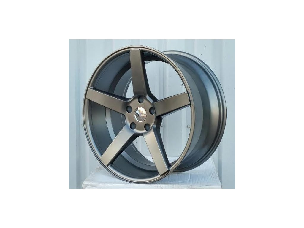 Alu kola Racing wheel 19x8.5 5x120 ET35 72.56 Gloss Graphite