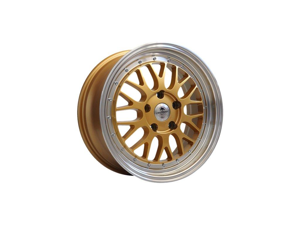 Alu kola Forzza Spot 7,5X17 5X120 ET42 72,6 gold/lm