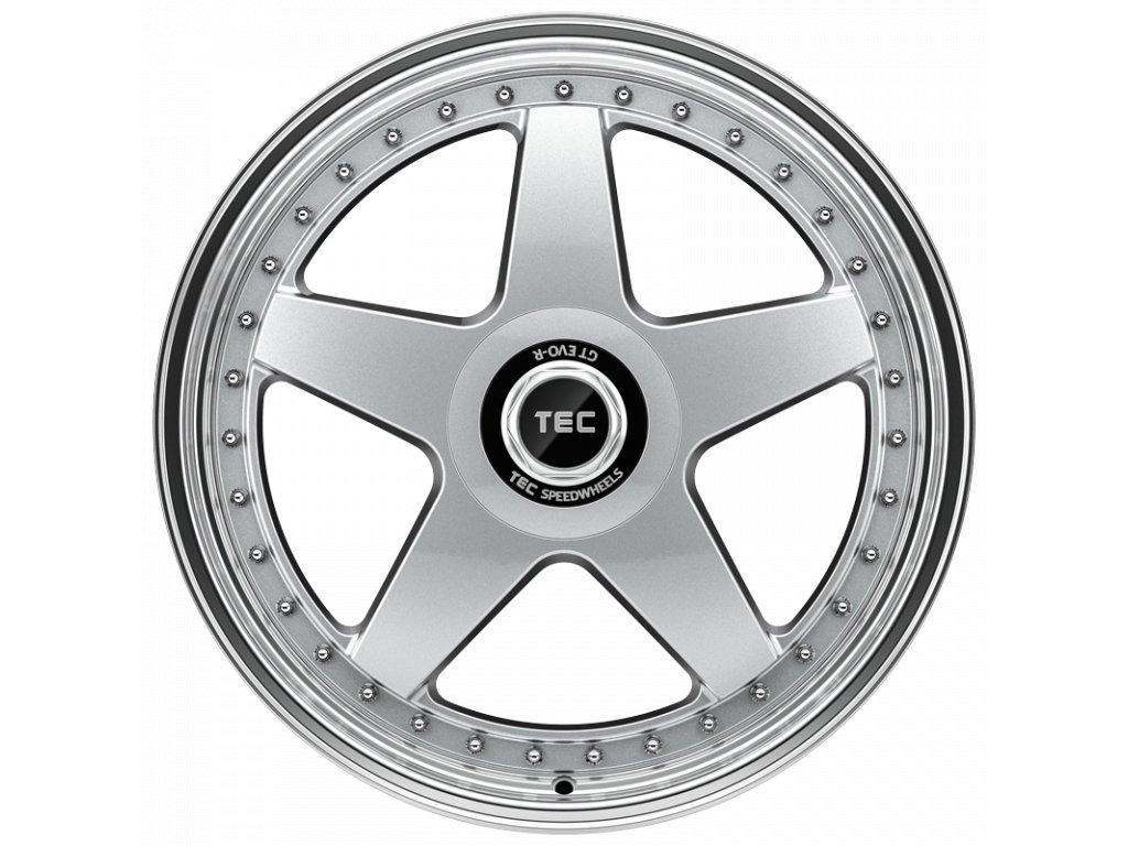 Alu kola TEC Speedwheels GT EVO R 18x8J 5x110 ET35 CB65,1 hyper-silver-polished-lip