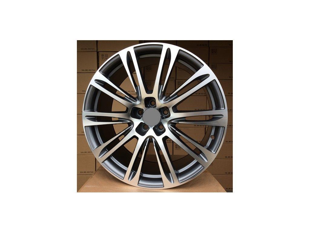 Alu kola design Audi 18x8 5x112 ET39 66.5 šedé