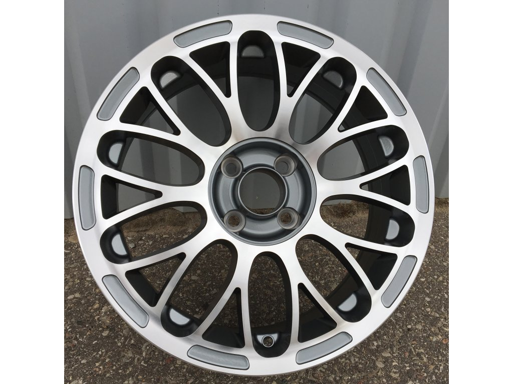 Alu kola design Fiat 15x6 4x98 ET35 58.1 šedé