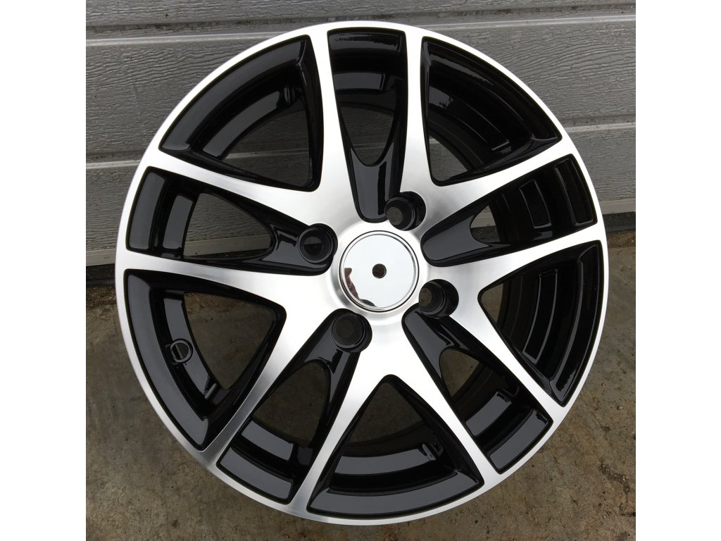 Alu kola design RS Wheels 13x5,5 4x99 ET35 73,1 černé