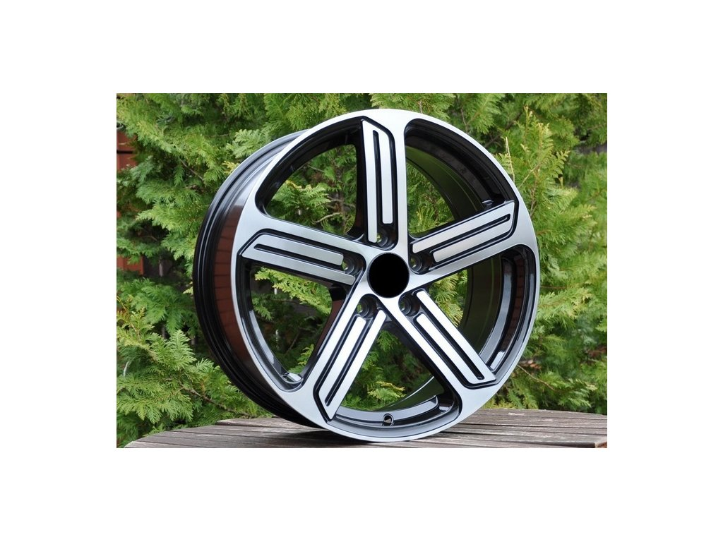 Alu kola design Volkswagen 15x6,5 5x112 ET43 57,1 černé