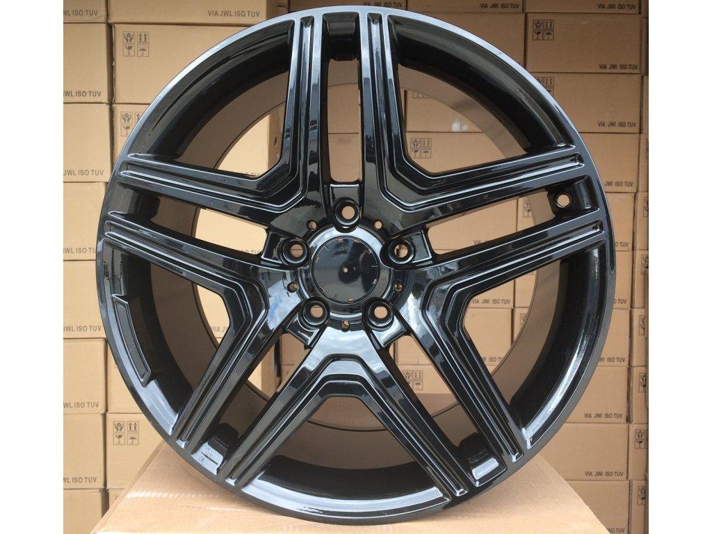 Alu kola design Mercedes 22x10 5x130 ET48 84.1 černé