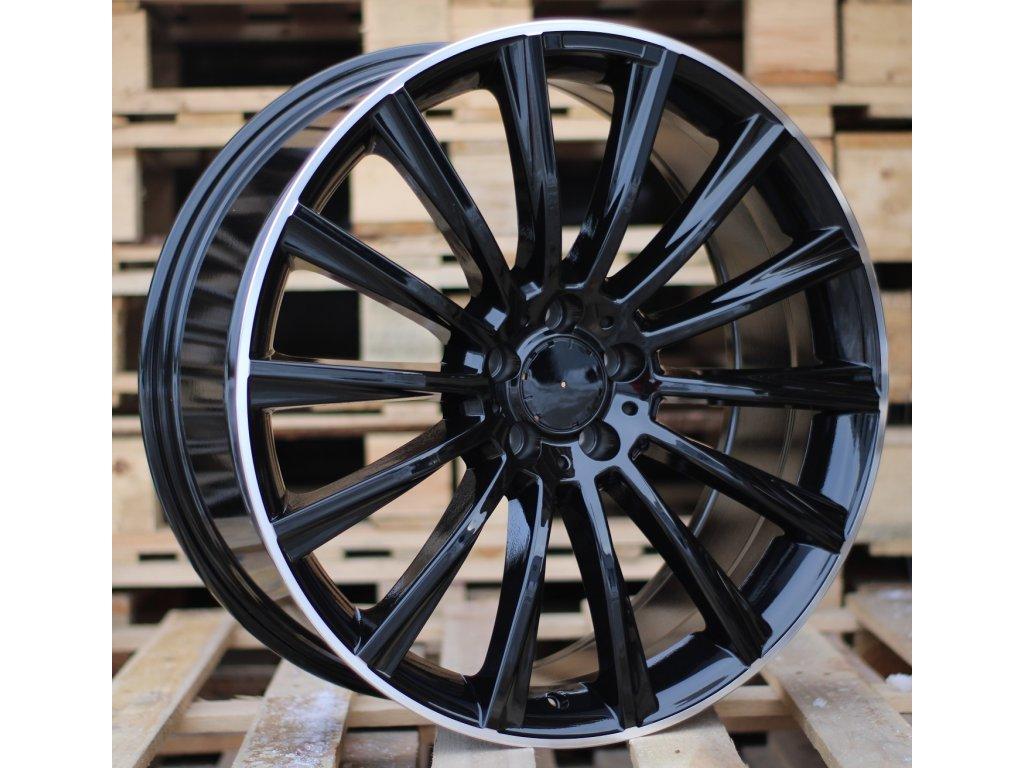 Alu kola design Mercedes 19x8.5 5x112 ET38 66.56 černé