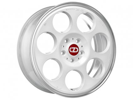 OZ ANNIVERSARY 45 17x7 4x100 ET37 RACE WHITE DIAMOND LIP