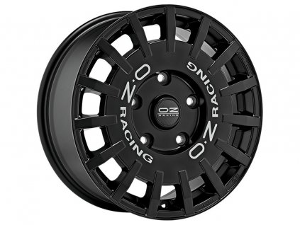 OZ RALLY RACING VAN 18x7,5 5x160 ET48 MATT BLACK SILVER LETTERING