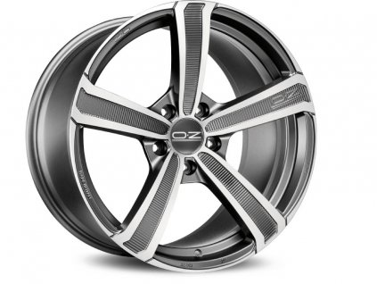 OZ MONTECARLO HLT 19x10 5x114 ET50 MATT DARK GRAPHITE DIAMOND CUT