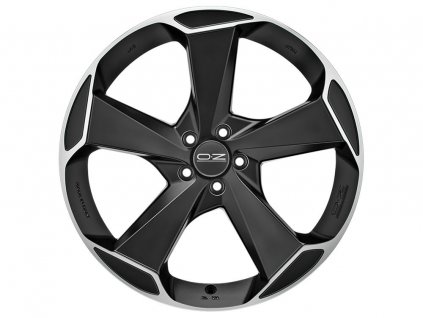 OZ ASPEN HLT 21x11 5x112 ET32 MATT BLACK DIAMOND CUT