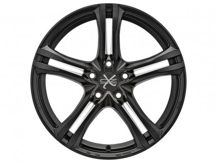 OZ X5B 17x7,5 5x112 ET50 MATT BLACK