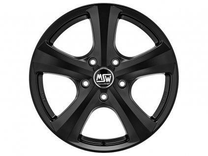 MSW 19 W 15x6,5 4x108 ET25 MATT BLACK