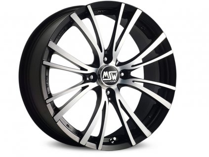 MSW MSW 20-4 17x7 4x100 ET37 BLACK POLISH