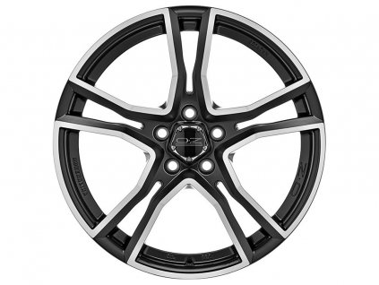 OZ ADRENALINA 17x8 5x112 ET48 MATT BLACK DIAMOND CUT