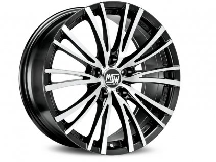 MSW MSW 20-5 16x7 5x108 ET40 MATT BLACK FULL POLISHED