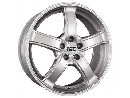 Alu kola TEC Speedwheels AS1 15x6J 4x100 ET40 CB64 sterling-silber