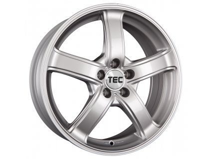 Alu kola TEC Speedwheels AS1 15x6,5J 5x100 ET38 CB57,1 sterling-silber