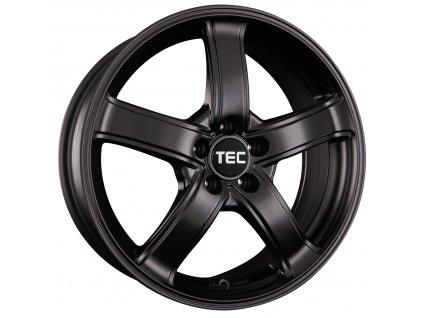 Alu kola TEC Speedwheels AS1 18x8J 5x115 ET35 CB70,2 Schwarz-Seidenmatt